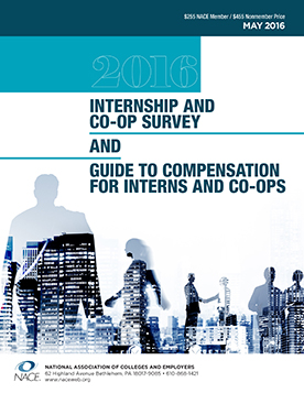 2016 Internship and Co-Op Survey Cover