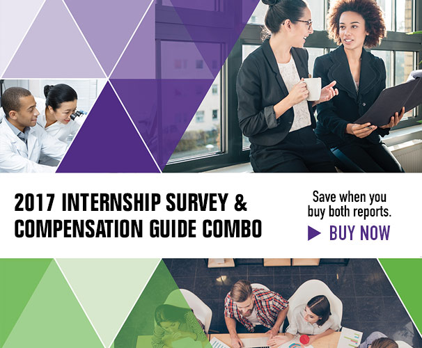 2017 Internship Survey & Compensation Guide Combo