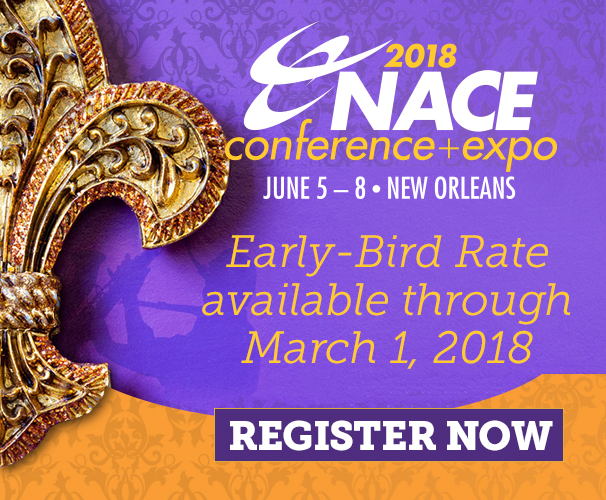 NACE18 Early Bird Registration is Open!