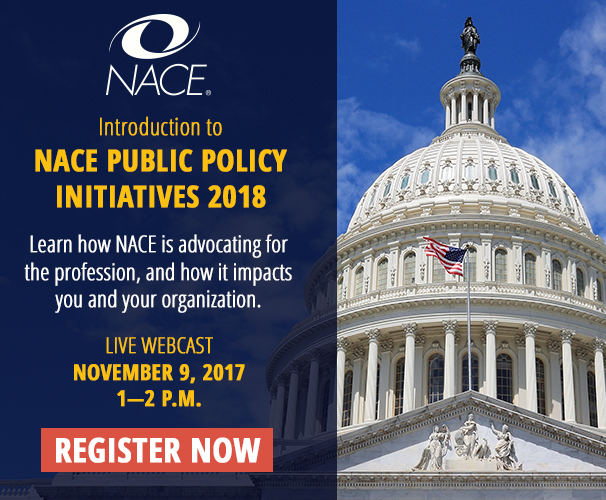 NACE Public Policy Webcast