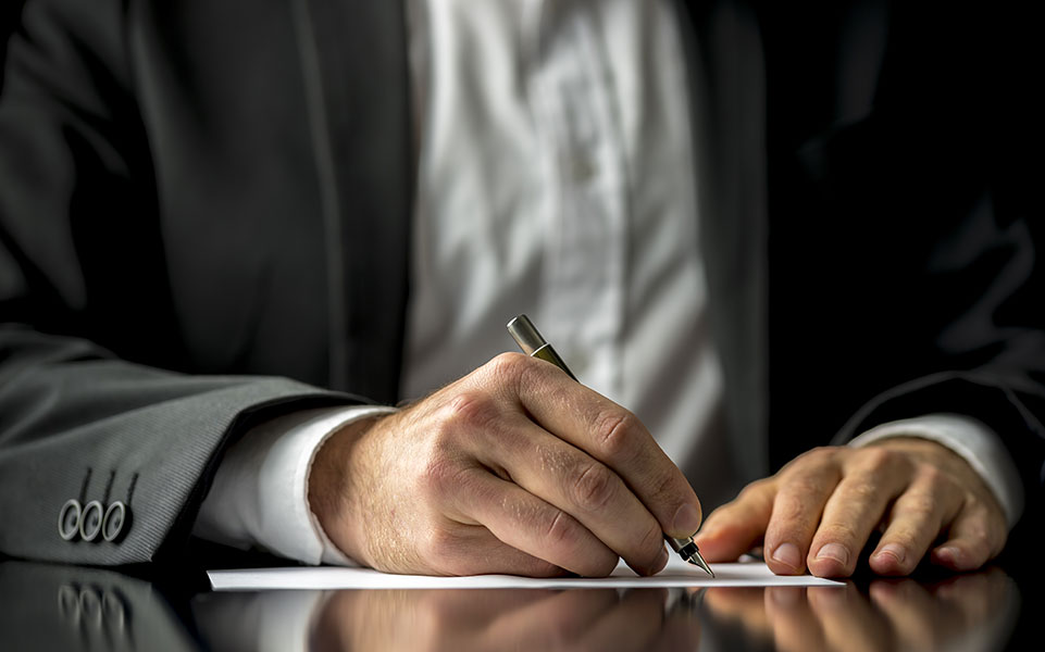 A supervisor writes a reference letter for a former employee.
