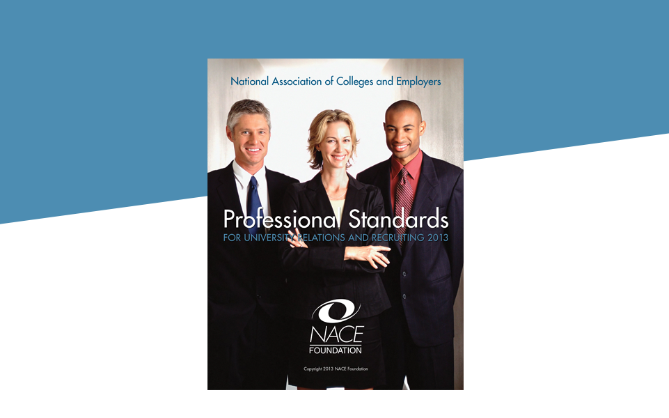 professional standards for university relations recruiting