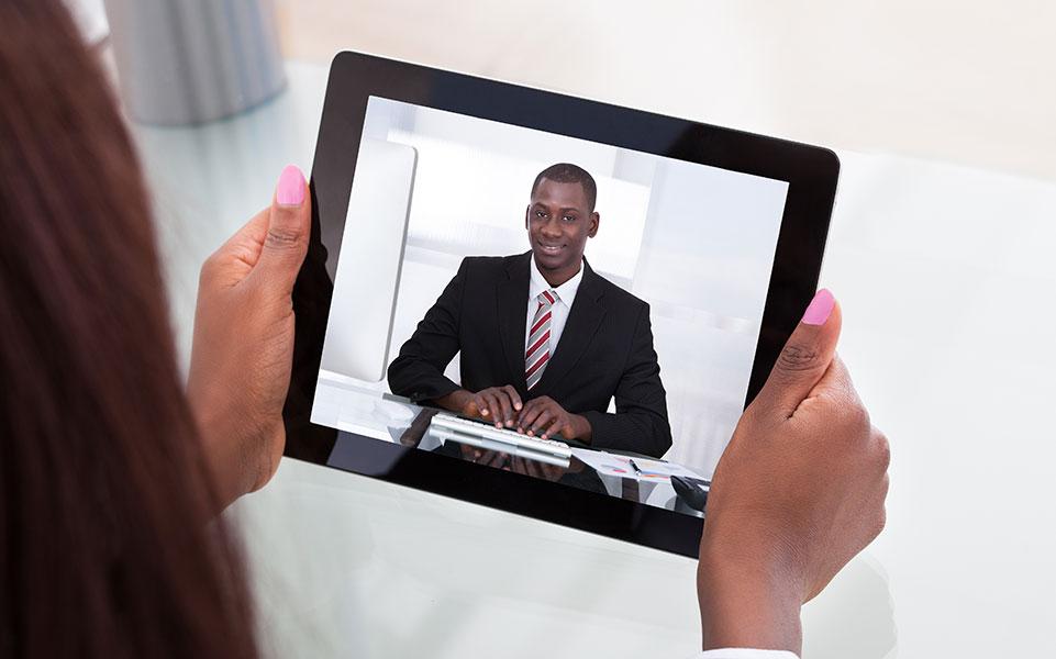 online video interview