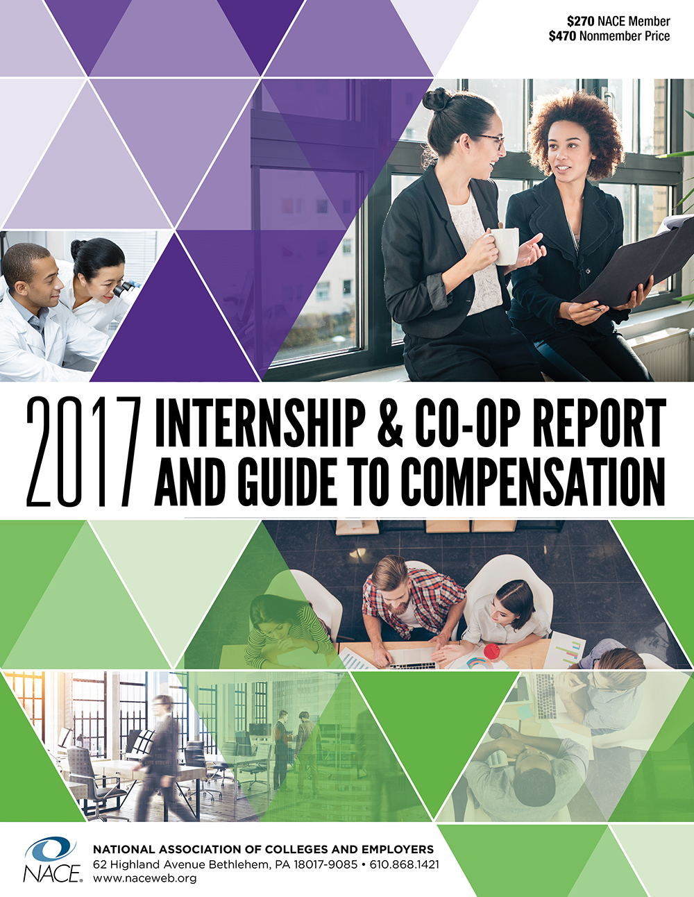 Internship Survey & Compensation Guide Combo 2017