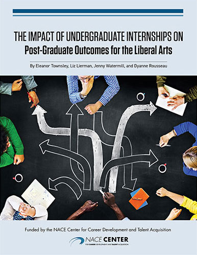 The Impact of Undergraduate Internships on Post-graduate Outcomes for the Liberal Arts