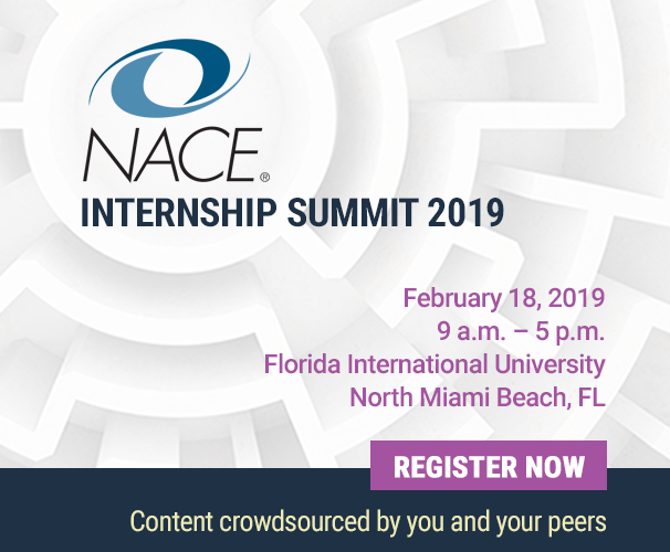NACE Internship Summit