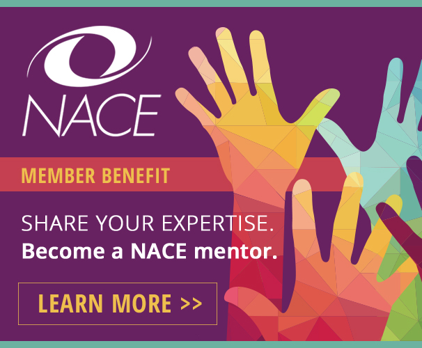 Sign up for the NACE Mentor Program