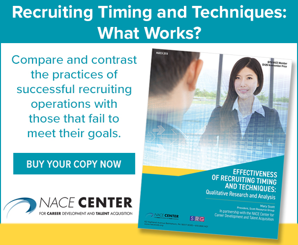 Effectiveness of Recruiting Timing and Techniques: Qualitative Research and Analysis