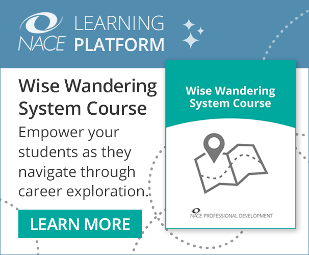 NACE Learning Platform: Wise Wandering System Course