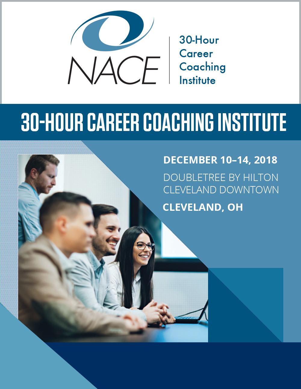 NACE 30-Hour Career Coaching Institute