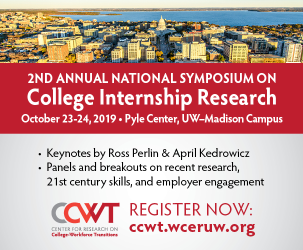 The 2nd Annual Symposium on College Internship Research