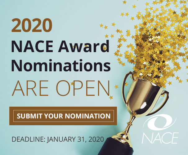 NACE Awards: Submit your nomination today!
