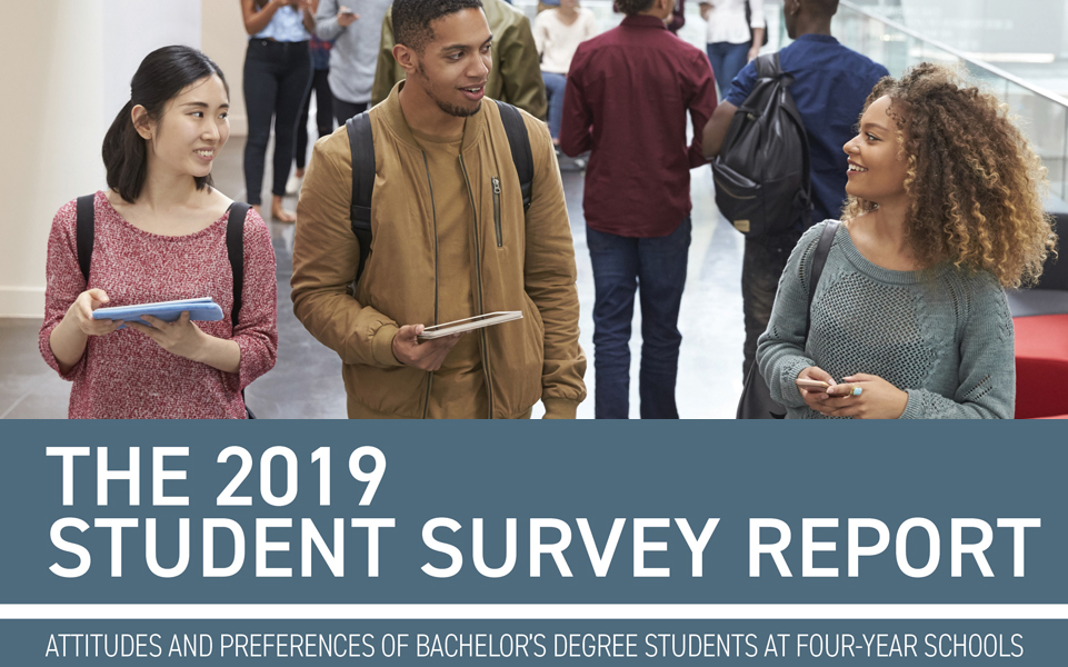 2019 Student Survey Report - Four-year
