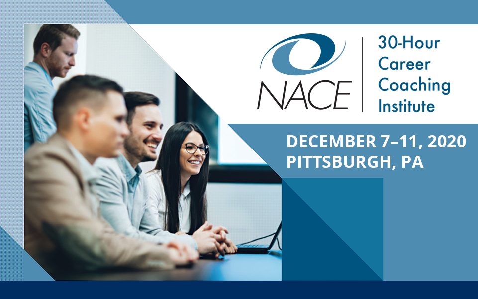 NACE 30-Hour Career Coaching Institute - Pittsburgh, PA