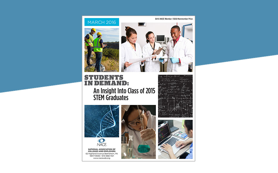 An Insight into 2015 STEM Graduates