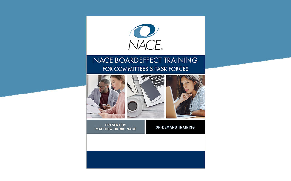 NACE BoardEffect Training for Committees & Task Forces