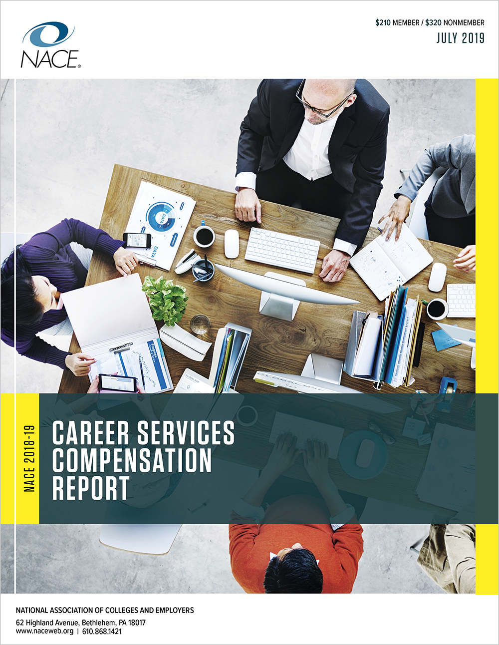 Career Services Benchmark Compensation 2018-2019