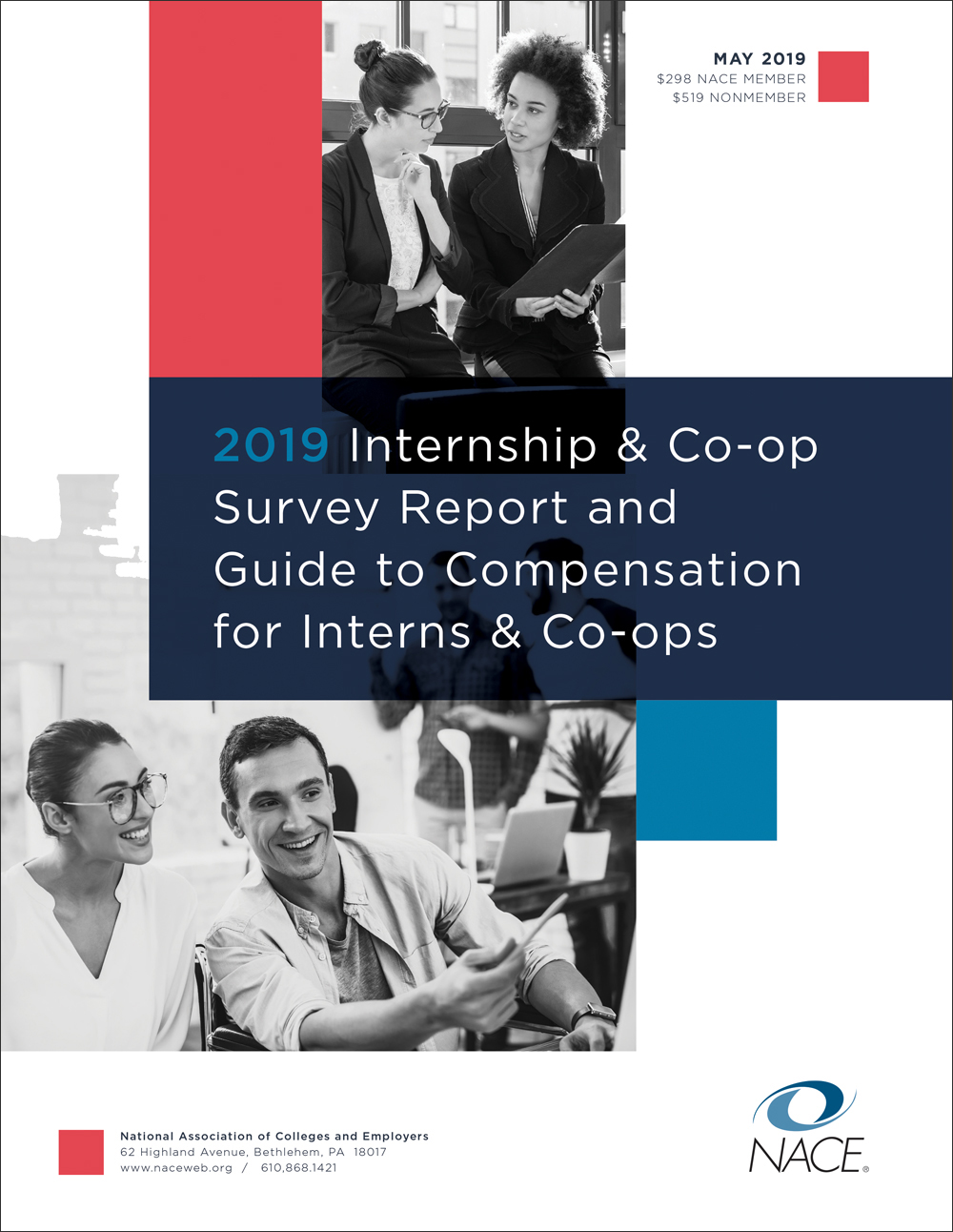 2019 NACE Internship Survey & Compensation Guide Combo