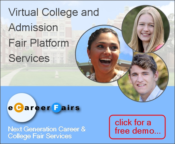 Virtual College and Admission Fair Platform Services
