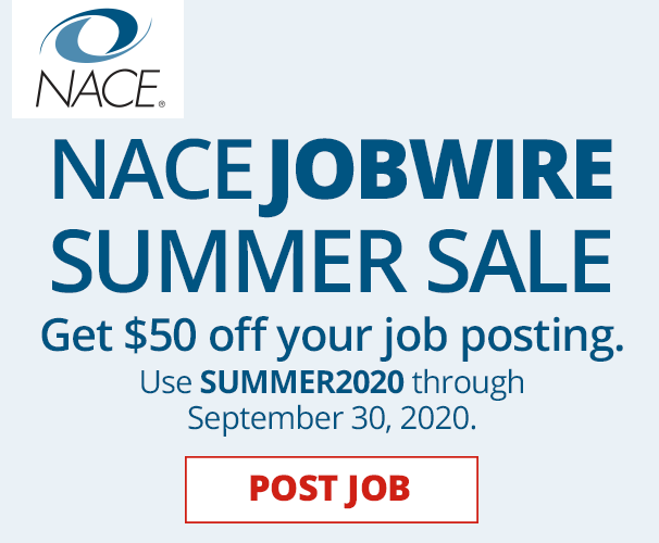 NACE Jobwire Summer Sale
