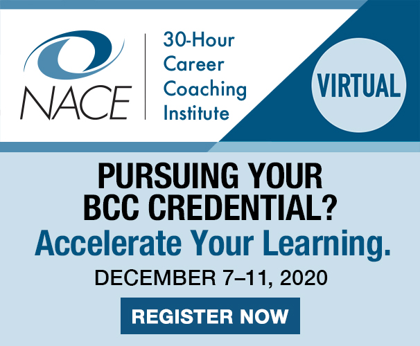 NACE 30 Hour Career Coaching Institute