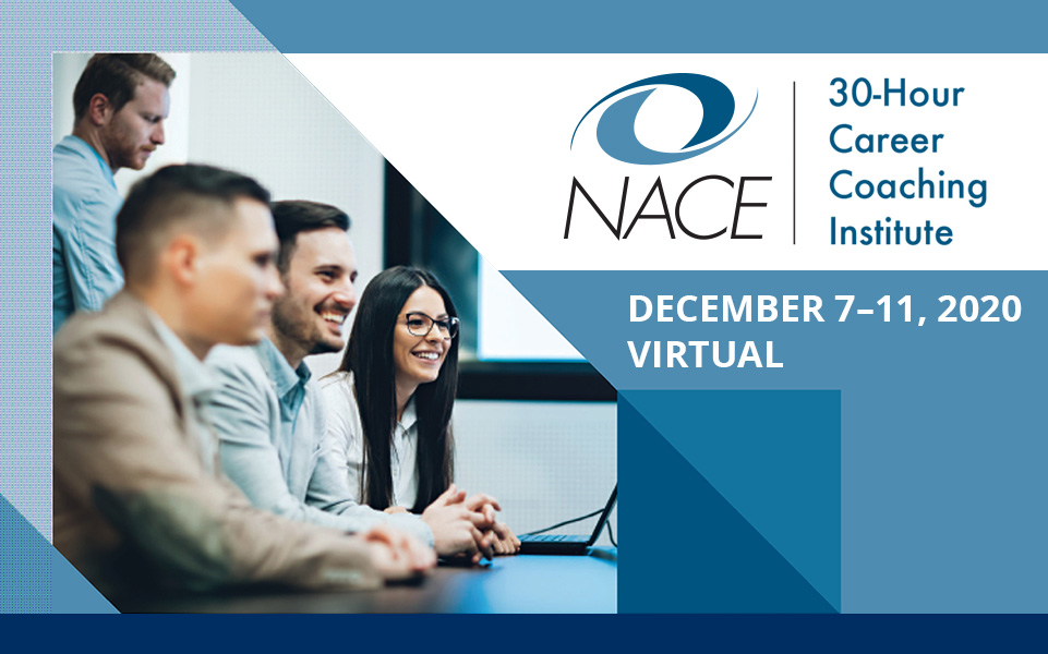 NACE 30-Hour Virtual Career Coaching Institute