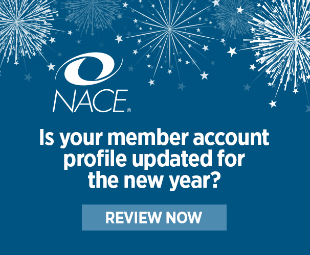 Review your NACE profile!
