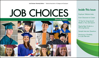 2012-2013 Job Choices Diversity Edition