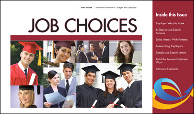 2012-13 Job Choices ditigal magazine